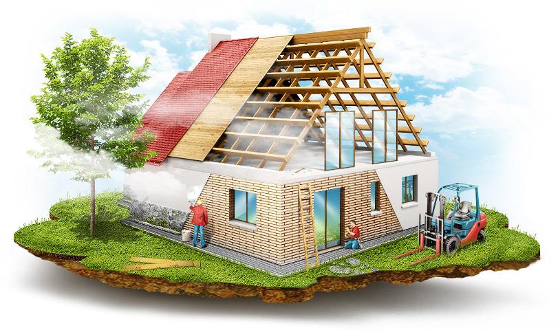 Хотите построить хороший, крепкий дом? Обратитесь в нашу компанию!