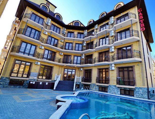 Лучшие гостиницы в поселке Дивноморское