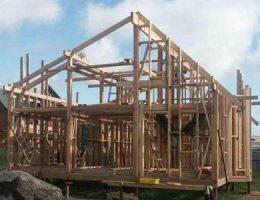 Как построить собственный дом из бруса