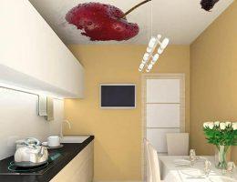 Натяжные потолки на кухню в Киеве