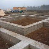 Строительство фундамента под каменный дом
