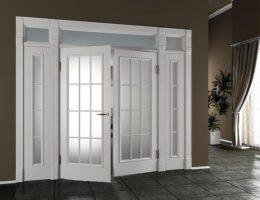 Широкие межкомнатные двери