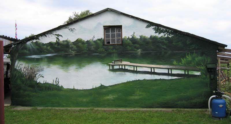 Ультрамодная роспись дома