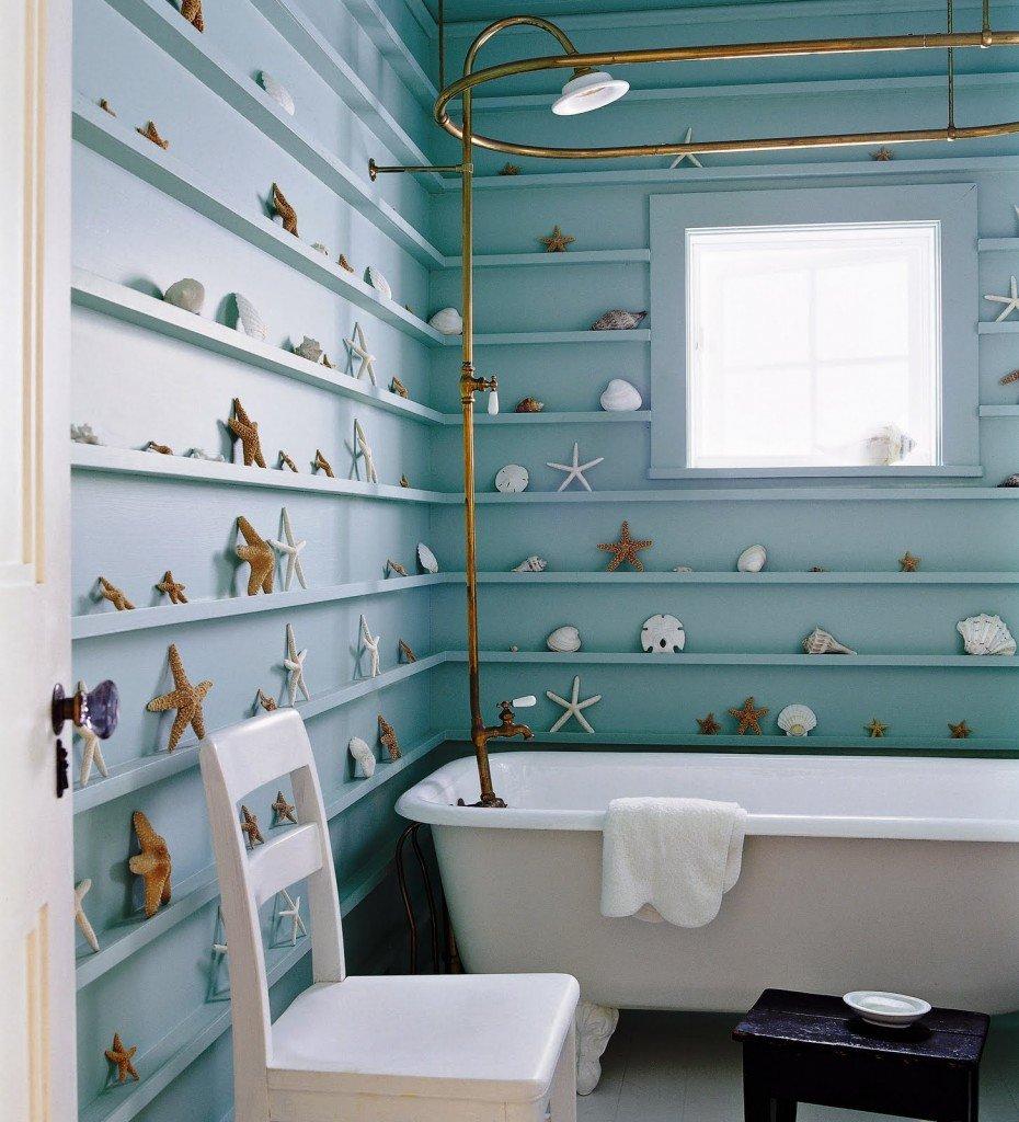 Отделка стен в ванной комнате: обзор материалов