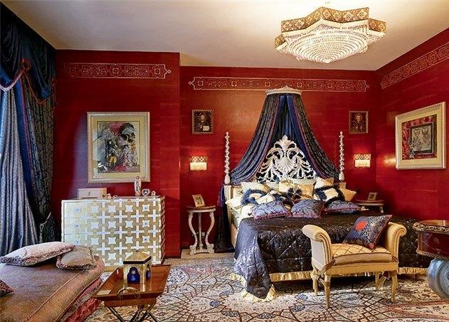 Добавляем страсти в интерьер спальни