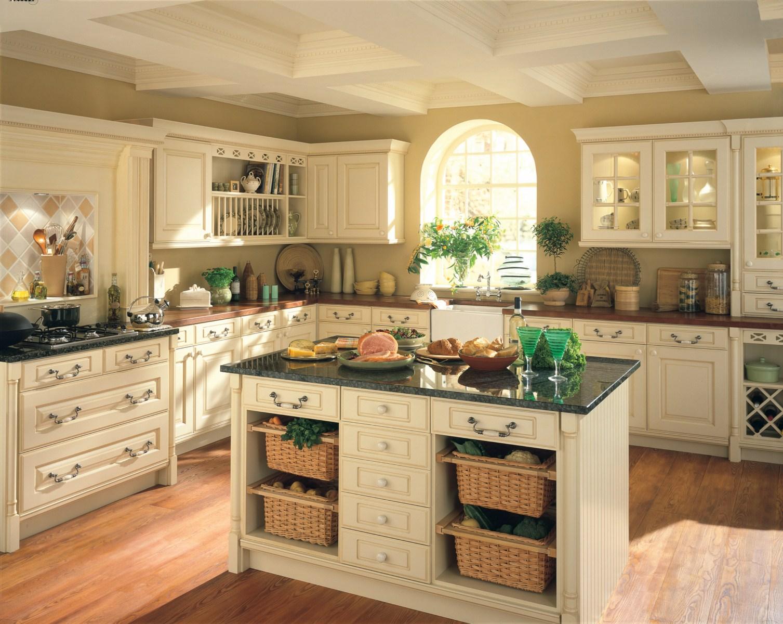 Дизайн кухни в стиле Старого Света