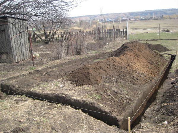 Мелкозаглубленный фундамент под сарай