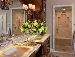 Особенности стиля интерьера ванной