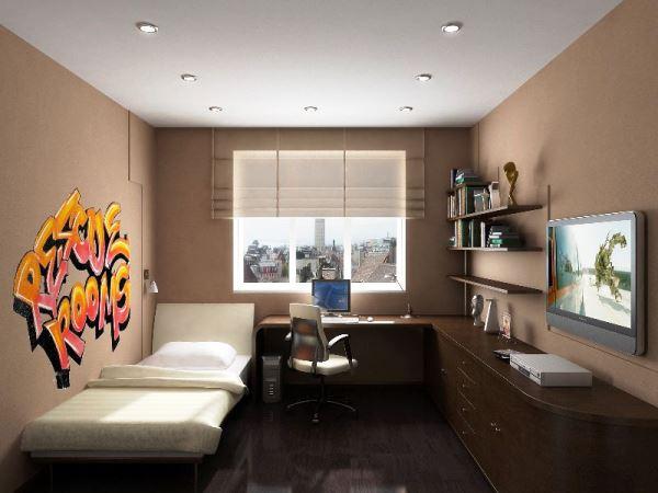 Какие выбрать обои для подростковой комнаты мальчика