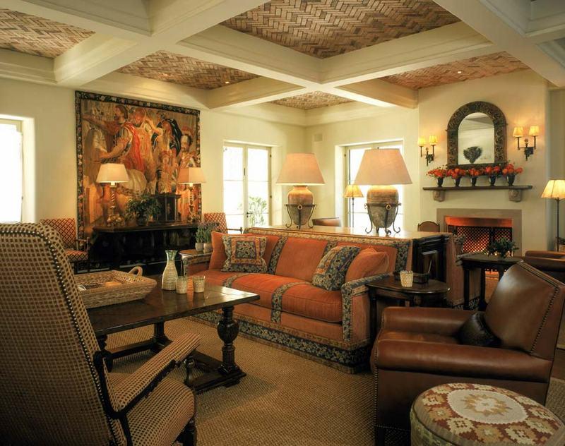 Испанский стиль в интерьере: роскошь и комфорт