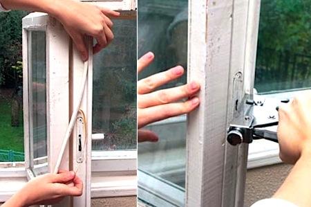 Как мы утепляли окна и двери?