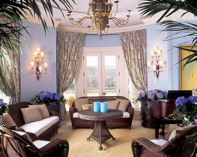 Элегантный аристократизм Британии в дизайне гостиной