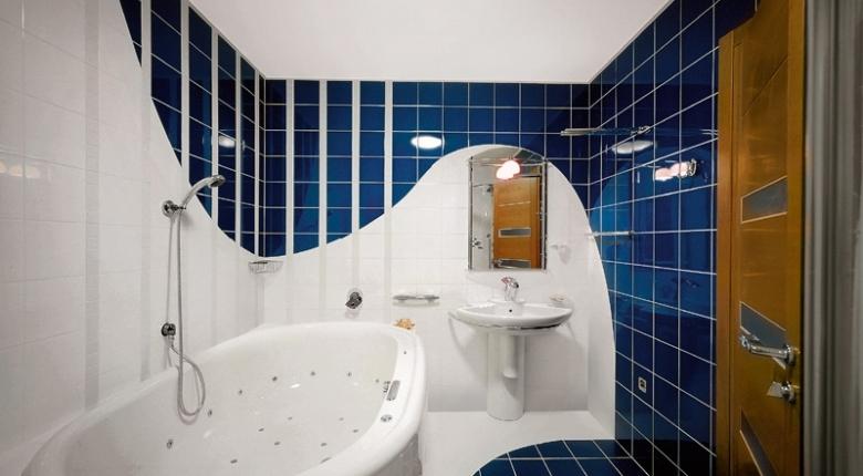 Идеи интерьера ванной с туалетом