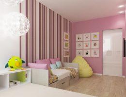 Интерьер детской для девочки. Особенности оформления и выбор цветового решения