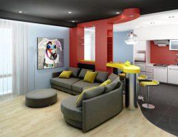 Идеи расположения и оформления барной стойки в гостиной