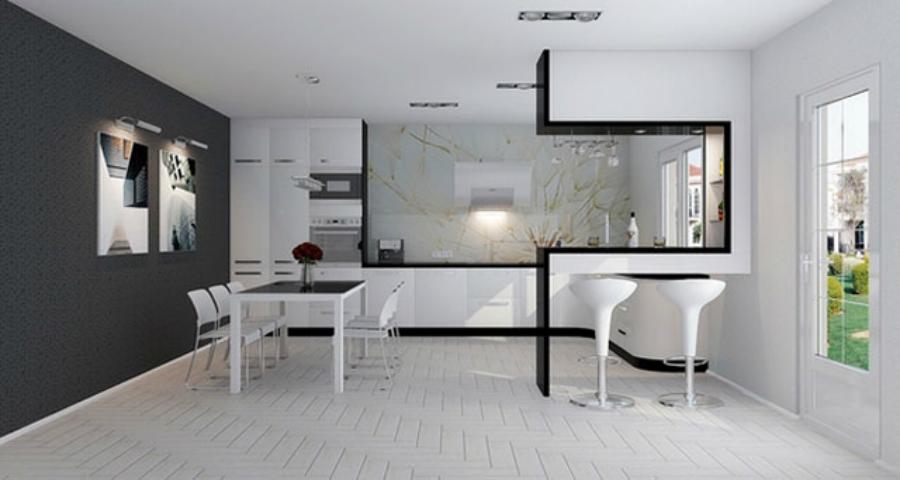 Как создать кухню в стиле хай-тек?