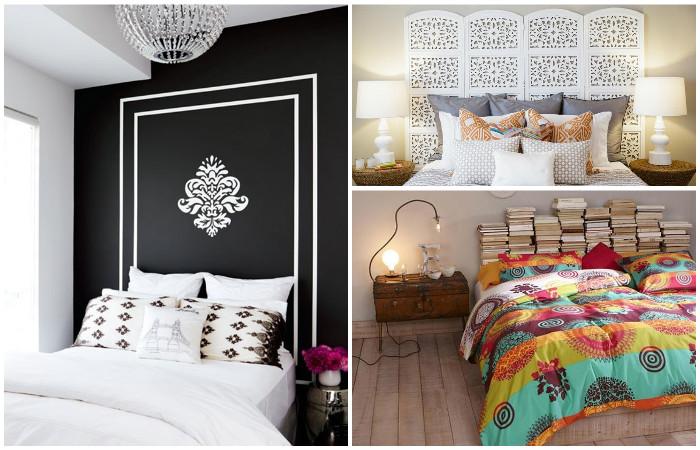 15 идей стильного оформления изголовья кровати, которые сделают из спальни маленький шедевр