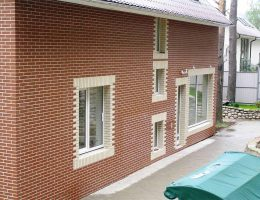 Термопанели фасадные с клинкерной плиткой: наружная отделка дома