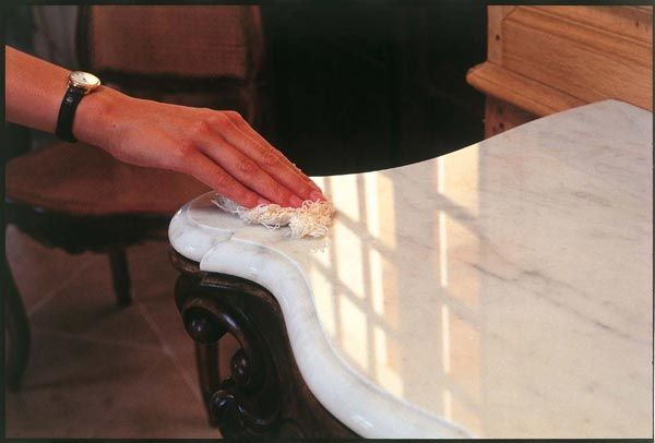 Как отполировать раковину из искусственного камня