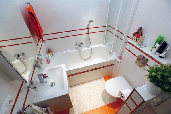 Хитрости декорирования маленькой ванной комнаты