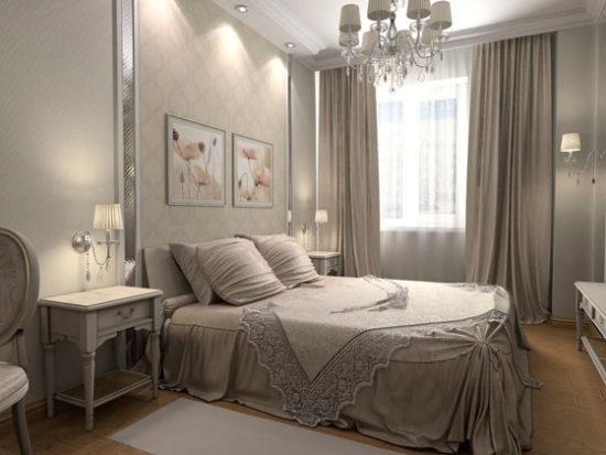 Комбинирование обоев в спальне: подробное руководство