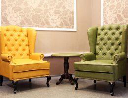 Кожаная мебель в дизайне интерьера