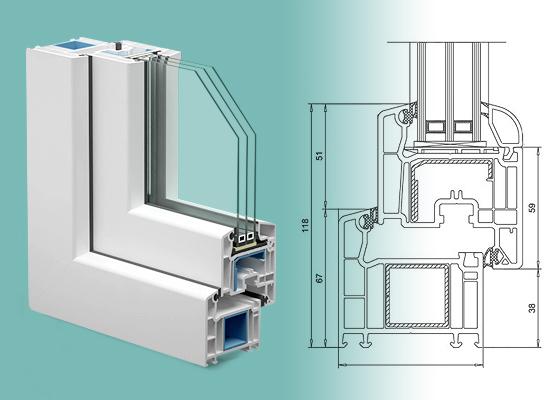 Пластиковые окна Veka Softline 70: качество, надежность, функциональность