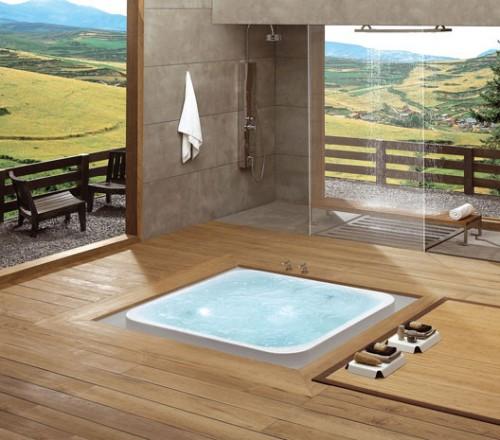 Офуро — ванная комната в японском стиле