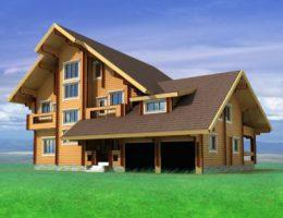 Фундамент дома из бруса может быть разным