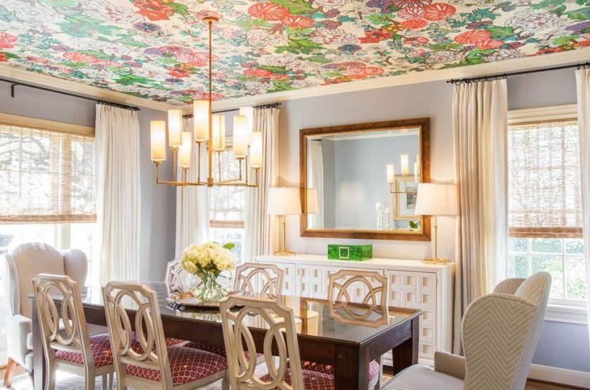 Как оригинально оформить потолок в квартире