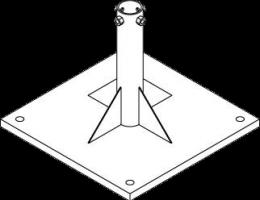 Дорожные стойки — необходимый элемент установки дорожного знака