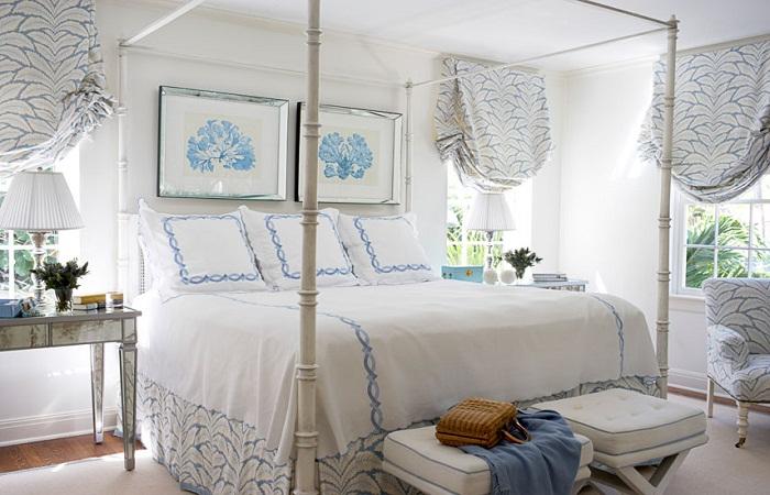 Короткие шторы для спальни – лучшие варианты