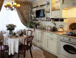 Кухня под старину – варианты оформления интерьера