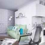Необычная квартира-студия для молодой семьи