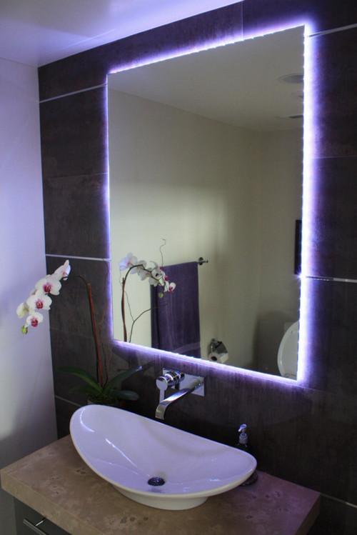 Черная ванная комната или дизайн ванной в черном цвете