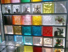 Создание дизайна при помощи стеклоблоков