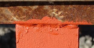 Нанесение антикоррозийной краски на поверхность