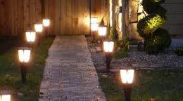 Солнечные фонари для дачи