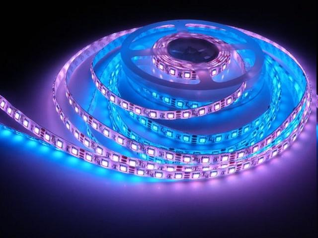 Как закрепить светодиодную ленту при организации подсветки разных типов