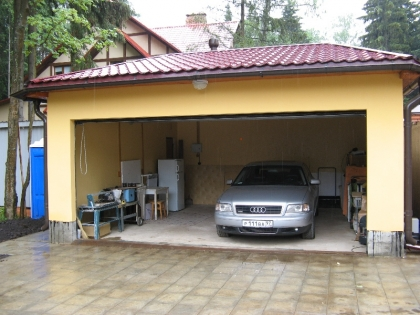 Планировка гаража