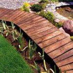Деревянные дорожки на даче своими руками