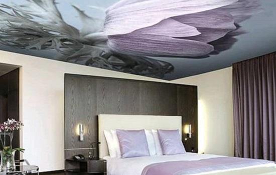 Тканевые натяжные потолки — характеристика