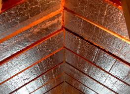 Утепление потолка под холодной крышей