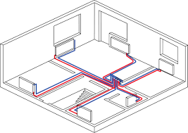 Двухтрубные системы отопления