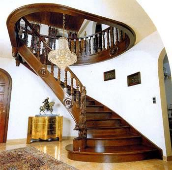 Виды лестниц для второго этажа