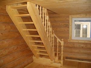 Как изготовить лестницу