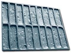 Полиуретановая форма для гипсовых кирпичей