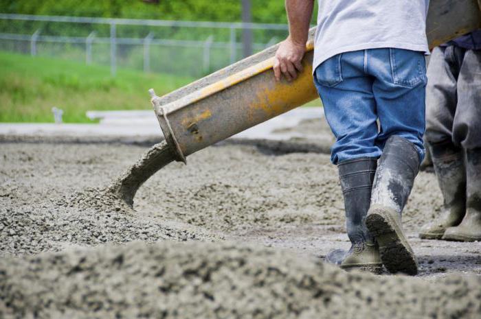 Зависимость прочности бетона от температуры