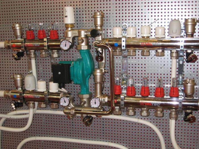 Насосы Grundfos для системы отопления «теплый пол»