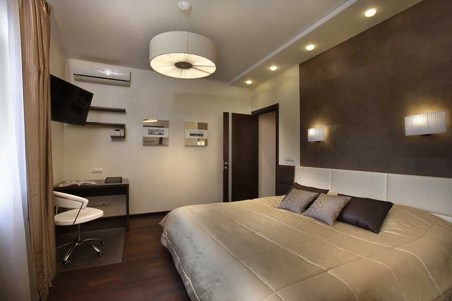 Выбираем освещение для спальни